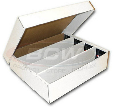 BCW Monster Storage Box 3200 Count Qty of 1 - Half Lid
