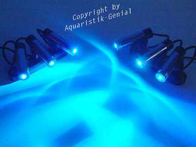 Aquarium Mondlicht -  Led 6-Fach Spot - Dimmbar -Top!
