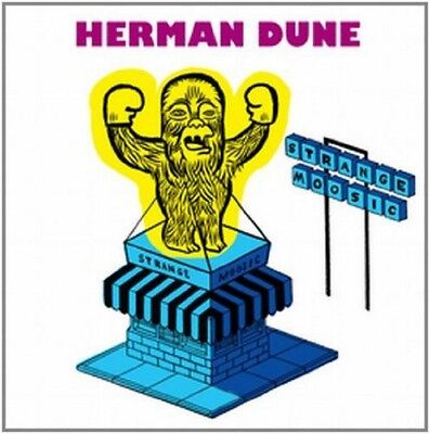Herman Dune - Strange Moosic (NEW CD & BOOK)