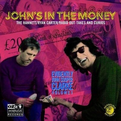 John Cooper Clarke - John's In The Money (Evidently (NEW CD)