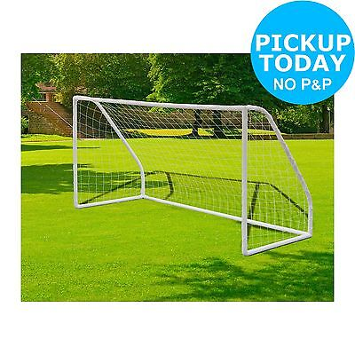 PVC 8ft x 4ft Football Goal. From the Official Argos Shop on ebay