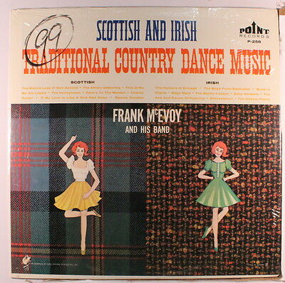 FRANK MCEVOY: Scottish And Irish Traditional Country Dance Music LP (Canada, co