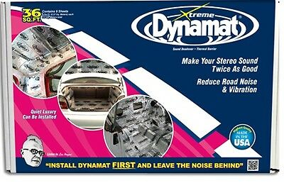 [10455] NEW DYNAMAT Xtreme BULK PACK 9 sheets 36 SQ FT- no additional folds