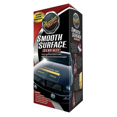 Meguiars G1016 Pflege-Set Smooth Surface CLAY KIT Reinigungsknete Reiniger