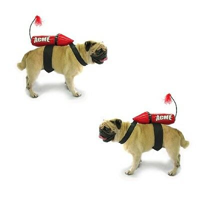 Dog Costume - ACME ROCKET COSTUMES for DOGS Dress Your Dog Like Wile E. Coyote