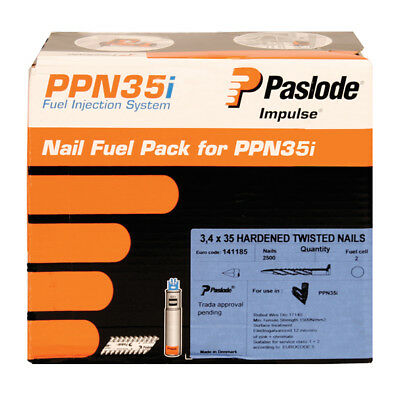 Paslode Twisted Nails 3.4 X 35MM for PPN35i