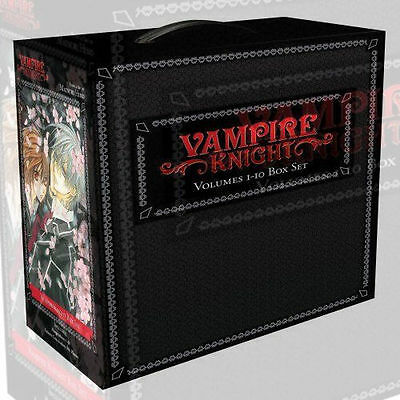 Vampire Knight Collection 10 Books Box Set by Matsuri Hino Paperback English NEW