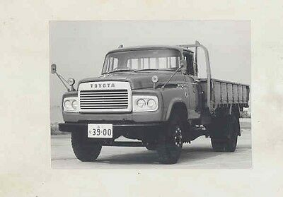 1968 Toyota Model FA110 8000 Cargo Deck Truck ORIGINAL Factory Photo wv2069