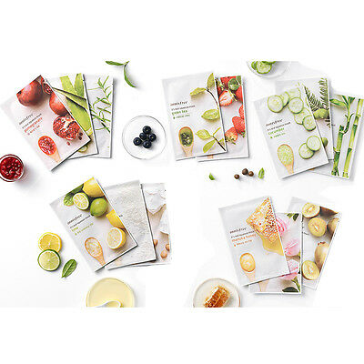 Innisfree It's Real Squeeze Mask Sheet 15pcs Free gifts