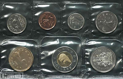 2005 Canada Uncirculated Proof-Like Set - Regular  Ed.