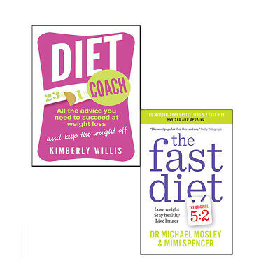 Fast Diet 2 Books Collection Pack Set Diet Coach: All the advice you need NEW UK