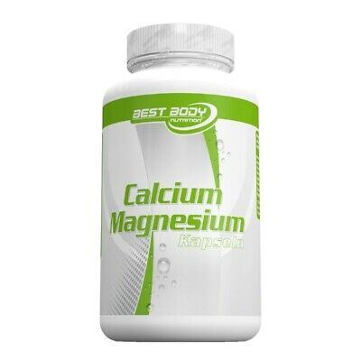 (11,24 EUR pro 100gr.) Best Body Nutrition Calcium Magnesium 100 Kapseln