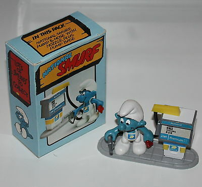 PUFFO PUFFI SMURF SMURFS PROMOTIONAL NA510 2.0052 Cleaner NATIONAL PETROL Box