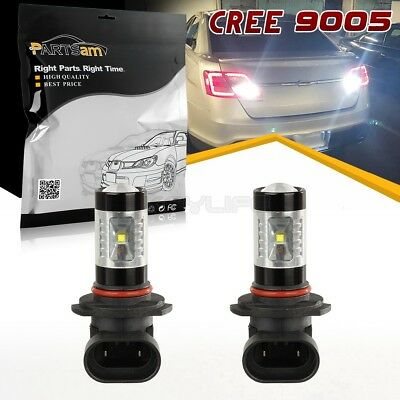 9005 HB3 Ultra White 6000k Fog Driving Light Lamps 30W Cree Led Bulb Replacement