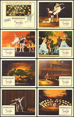 SWAN LAKE 11x14 movie posters BOLSHOI BALLET original 1960 lobby card set