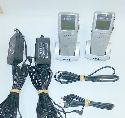 (One set)  Philips LFH-9350 Pocket Digital Dictation Dictaphone Voice Recorder