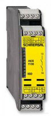 RELAY, SAFETY, 24V DC Part # SCHMERSAL AES1135 (24VDC)