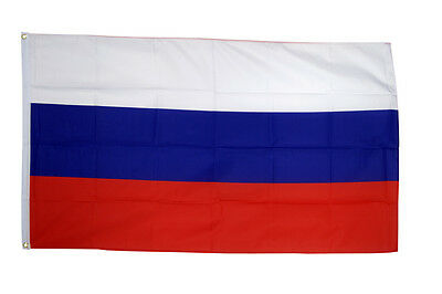 Russia Flag 3 x 2 FT  Country 100% Polyester National Europe White Red Blue