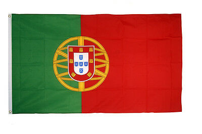 Portugal Flag 3 x 2 FT  Country 100% Polyester National Europe Green Red
