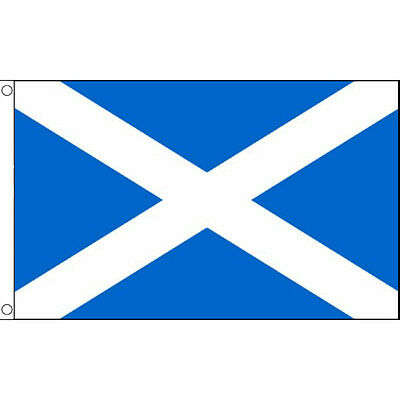 Scotland Flag 3 x 2 FT  Country 100% Polyester National Europe St Andrews Light