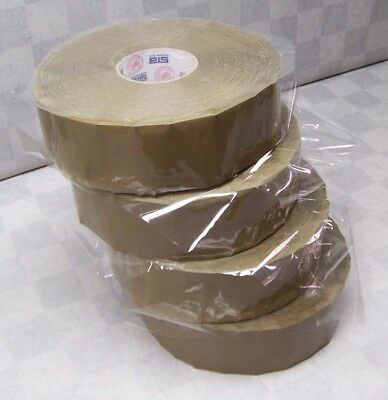 4 Rolls STA 72mm x 900m Packing Machine Tape Carton Sealing Box Package 1.8mil