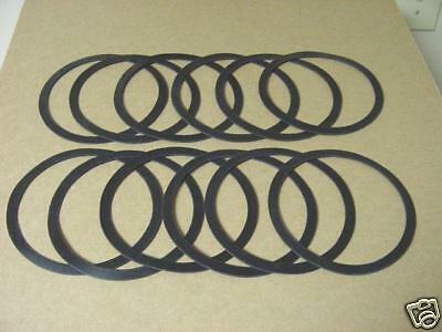 "SWITCH / MARKER LAMP GASKETS 4-1/2"" (12) SET NEW"