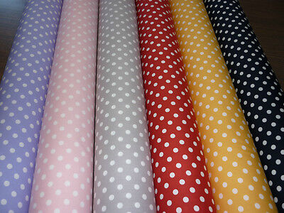 Cot  Fitted  Sheet   Boori Size  . Polka Dots    100 % Cotton    Brand New
