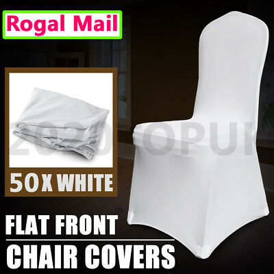 50 white Chair Covers Lycra Spandex Wedding Party cover Event Banquet favorite