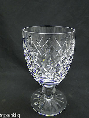 Waterford Donegal Claret Wine Glasses 4 3/4in Clear Cut Crystal