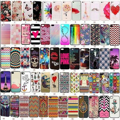 Hot Patterned Fundas Carcasa Cover Case Protejer For Apple iPhone 4s 5s SE 6s