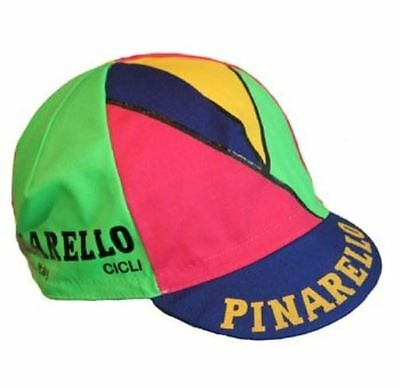 PINARELLO RETRO VINTAGE  BIKE CYCLING CAP - Fixed Gear - Made in Italy