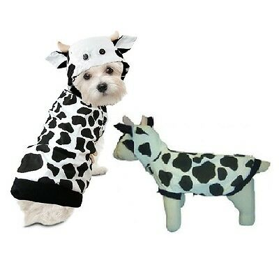 High Quality Dog Costume - COW COSTUMES Moo Moo Outfits For Dogs As Farm Animal