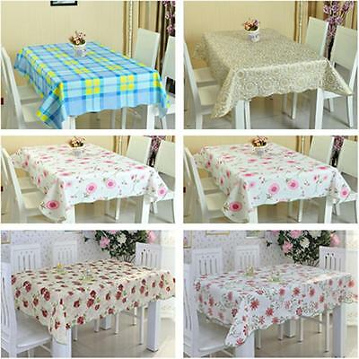 Hotsale Waterproof PVC Tablecloth Disposable Oil Cloth Table Cloth Mat Wedding S