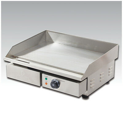 3kw 60cm Commercial Electric Griddle and Hotplate From Premier Range