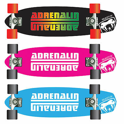 "Adrenalin Velocity Ramp/street 26"" Skateboard - Perfect For Cruising"