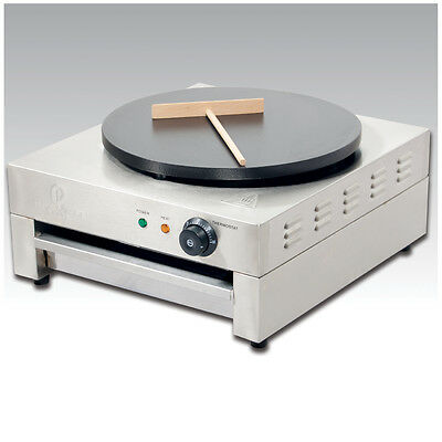 3kw Single Crepe Maker and Pancake Machine - Electric Hotplate Premier Range