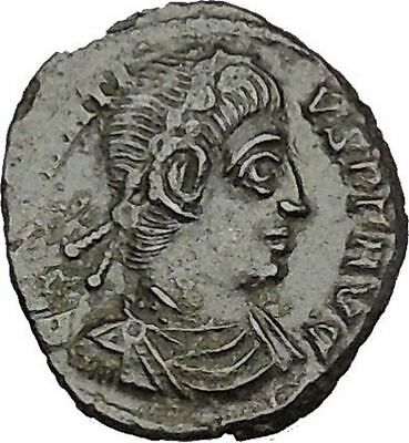 CONSTANTIUS II Constantine the Great son Ancient Roman Coin Victories  i50698