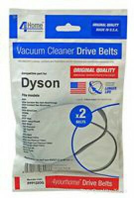 VACUUM BELTS, PACK OF 2, DYSON Part No. PPP122OQ By 4 YOUR HOME