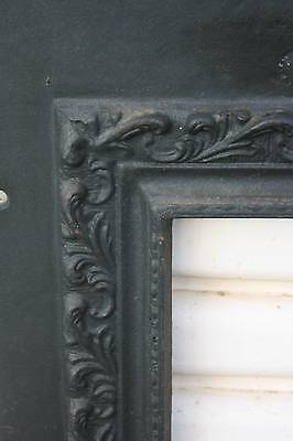 A Victorian Iron Fire Surround Facia