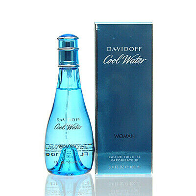 Davidoff Cool Water Woman Eau de Toilette 100 ml EDT NEU OVP