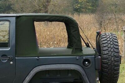 Cargo top per Jeep Wrangler Jk Unlimited 2 porte Military Green