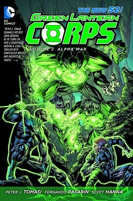 Green Lantern Corps New 52 Volume 2: Alpha War Softcover Graphic Novel