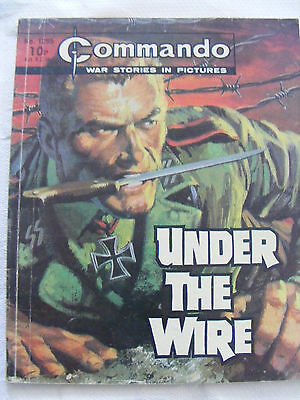 "Commando Comic War Stories In Pictures # 1295  ""under The Wire"" 1979"