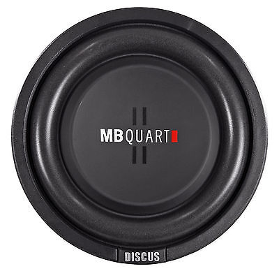 "MB Quart DS1-204 8"" Shallow Mount Car/Truck Subwoofer w/Poly Cone+2"" Voice Coil"