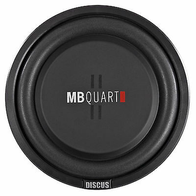 """MB Quart DS1-254 10"""" Shallow Mount Car/Truck Subwoofer w/Poly Cone+2"""" Voice Coil"""