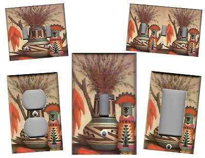 Southwest Vase And Kachina Home Decor Light Switch Plates And Outlets