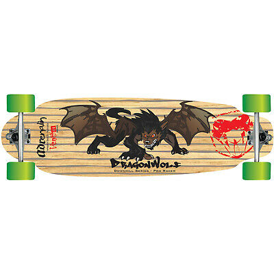 "Adrenalin Downhill 38"" Dragonwolf Pro-Racer Skateboard"