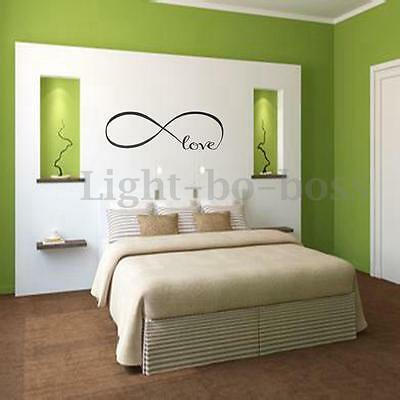 Romatic Love Removable Art Vinyl DIY Wall Sticker Decal Mural Home Bedroom Decor