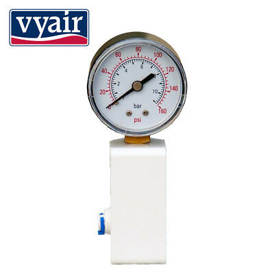 "Pressure Gauge for RO Reverse Osmosis System  use all 1/4"" water pipe"