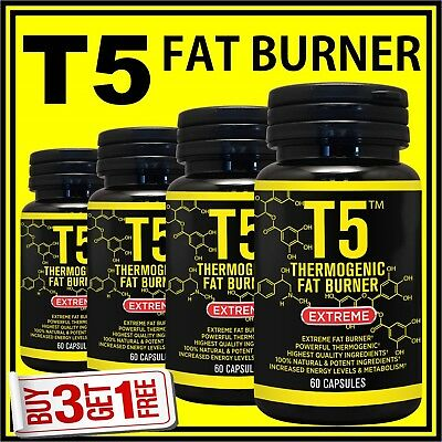 /T5 Weight Loss Capsules Garcinia Cambogia Fat Burner Pills Strongest 100% Legal